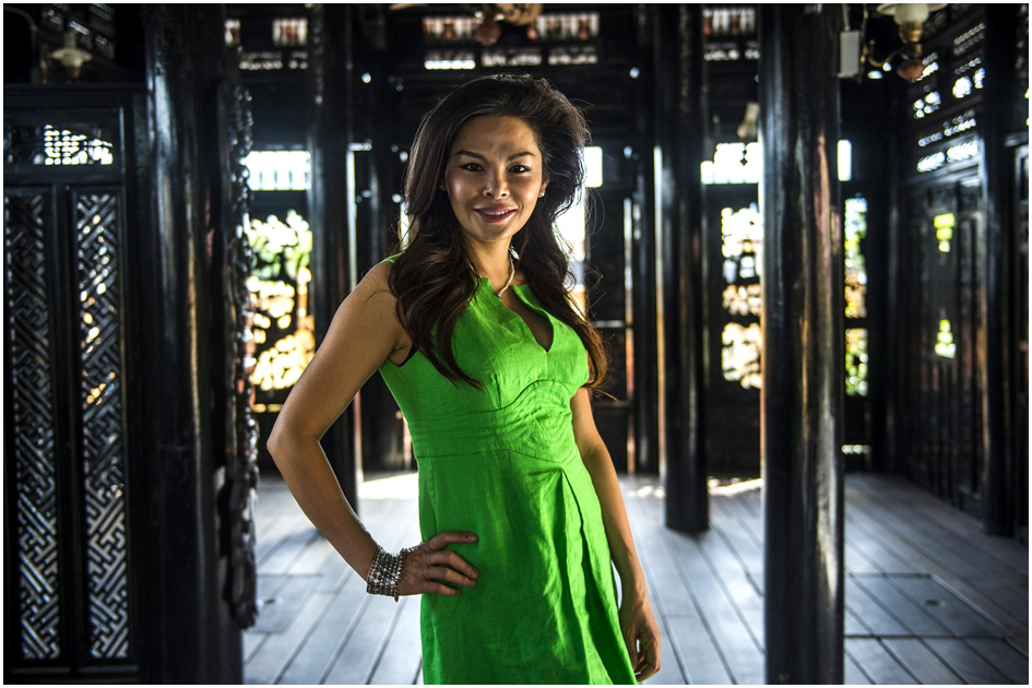 Mai Nguyen poses for a portrait at Sapa Sushi Bar & Grill in Salt Lake City Wednesday August 13, 2014.  Nguyen was named Woman Business Owner of the Year by the National Association of Women Business Owners.  Nguyen and her family own four  Salt Lake County restaurants: Sapa Sushi Bar, Bucket O'Crawfish, Fat Fish and Noodle and Chop Stick. Mai is a American success story, having immigrated from Vietnam when she was 9, along with her parents and 6 younger siblings.